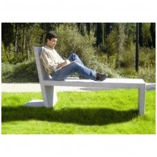 Lauko betoninis suolas 'GOIS / Bench with Lateral a Support 2310mm'